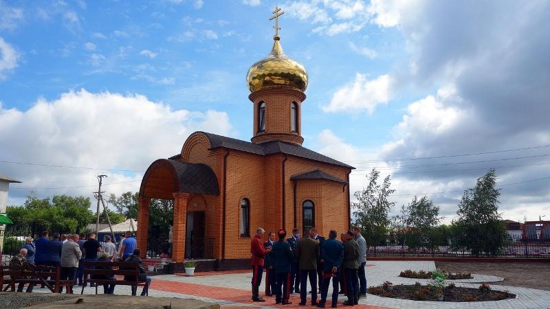 В Карасуке открыли новый православный храм