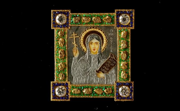 Микроикону для жены сделал «сибирский Левша»