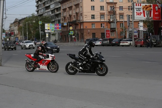 Подержанные мотоциклы и скутеры массово скупают новосибирцы