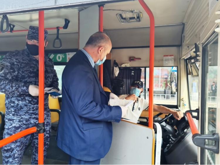 Масочный рейд прошёл в автобусах Владивостока
