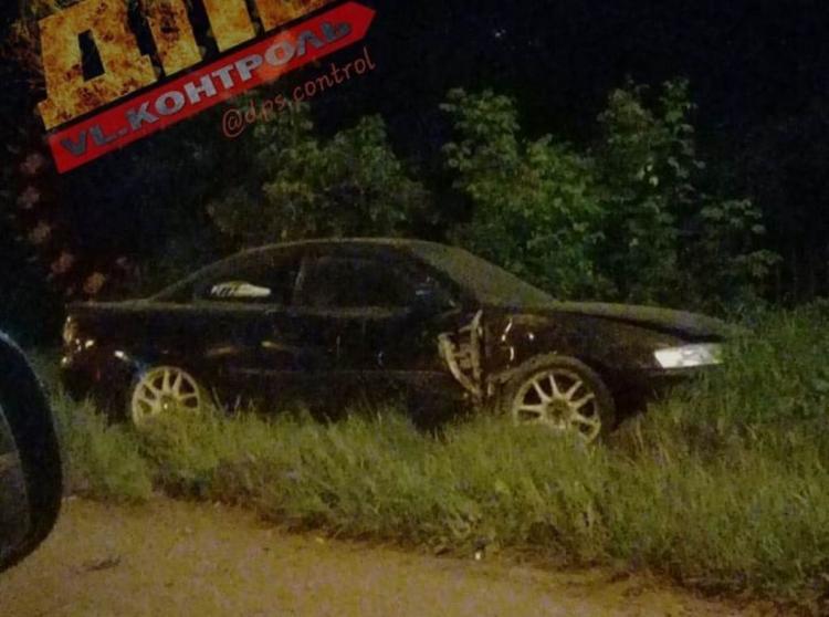 Ночью во Владивостоке пьяный водитель создал ДТП