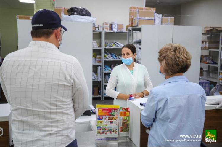 Предприятия Владивостока подверглись массовой проверке из-за COVID-19