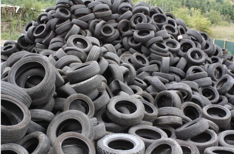 Бизнес поможет Владивостоку избавиться от отработанных шин