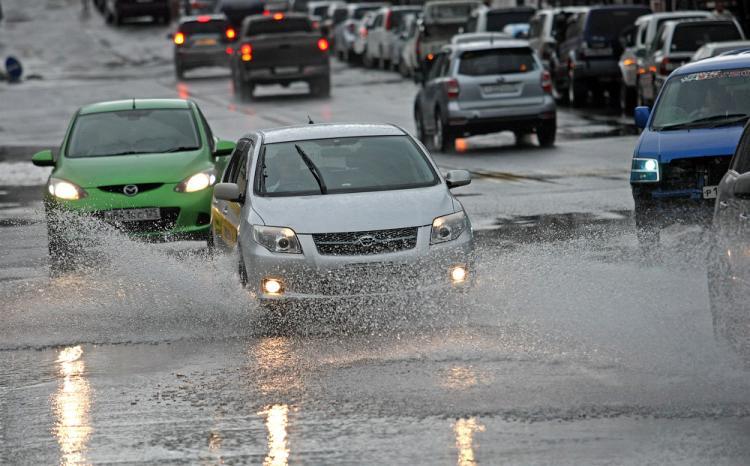 Сильные дожди обрушились  на Приморье