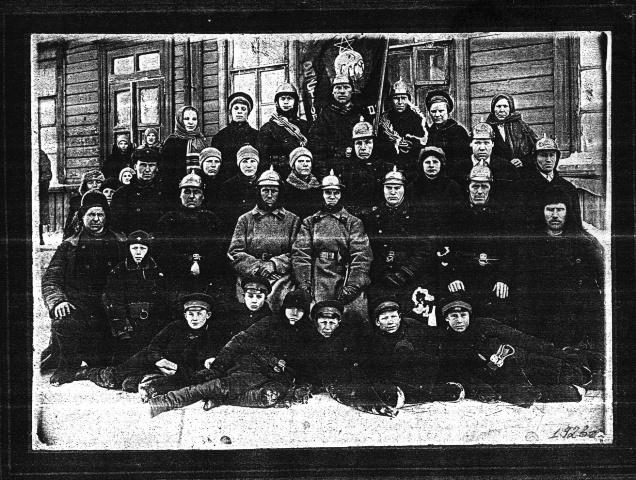 100 лет исполнилось пожарной части Болотнинского района