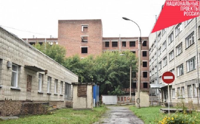 Губернатор Андрей Травников: Решение по достройке корпуса больницы №34 принято