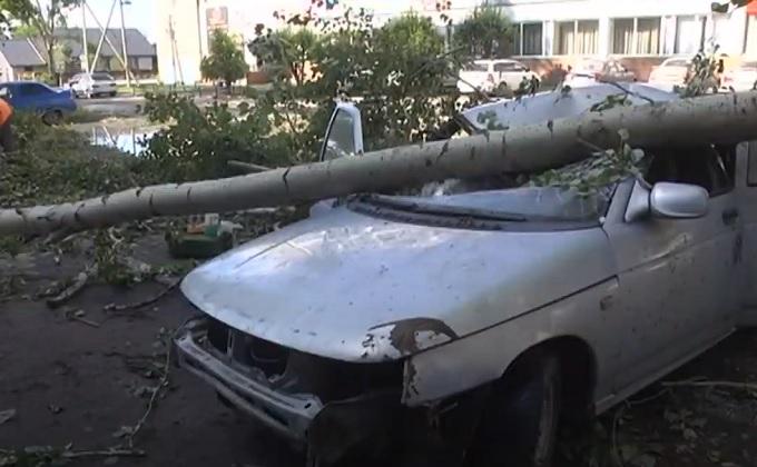 Режим ЧС введен в Барабинске – последствия урагана