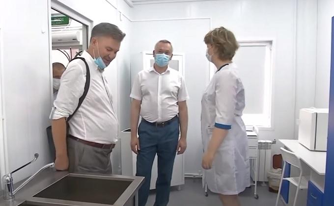 Выполнение наказов избирателей проконтролировал Андрей Травников в Чистоозёрном