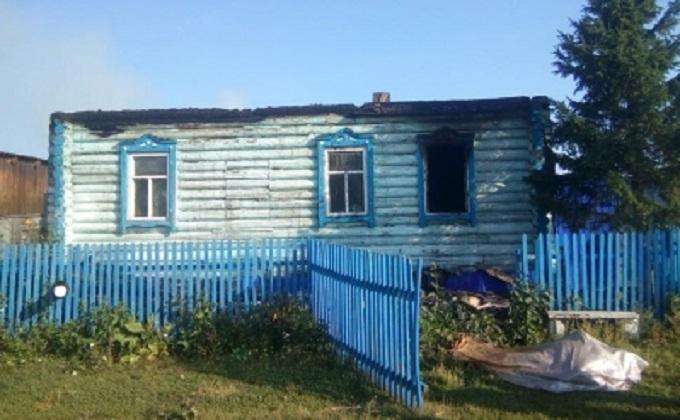 Два человека погибли при пожаре в Барабинском районе