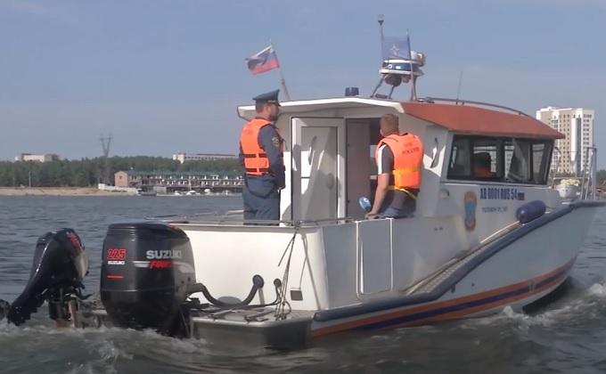 Спасатели усилили патрулирование новосибирских пляжей