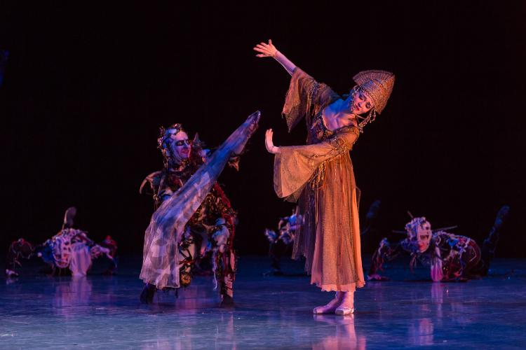 Восточная сказка развернется на сцене Приморской Мариинки