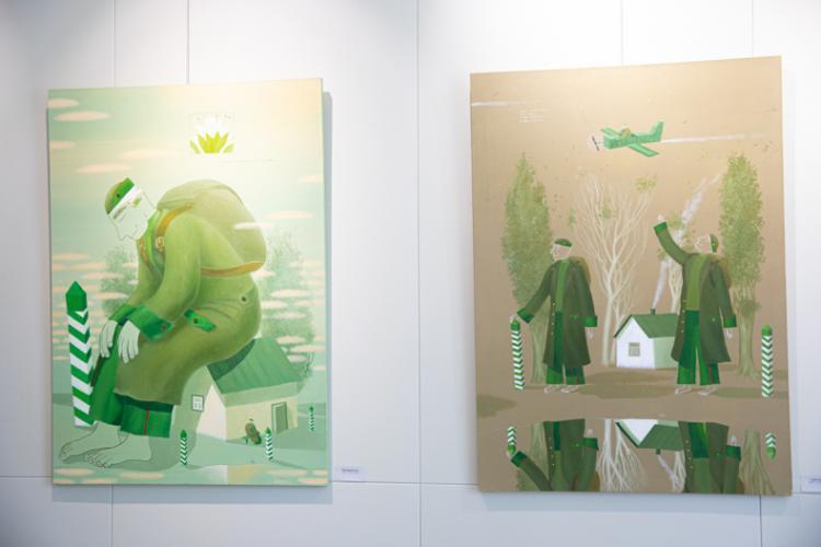 С картинами художника Виктора Норкина можно познакомиться в «Артэтаже»