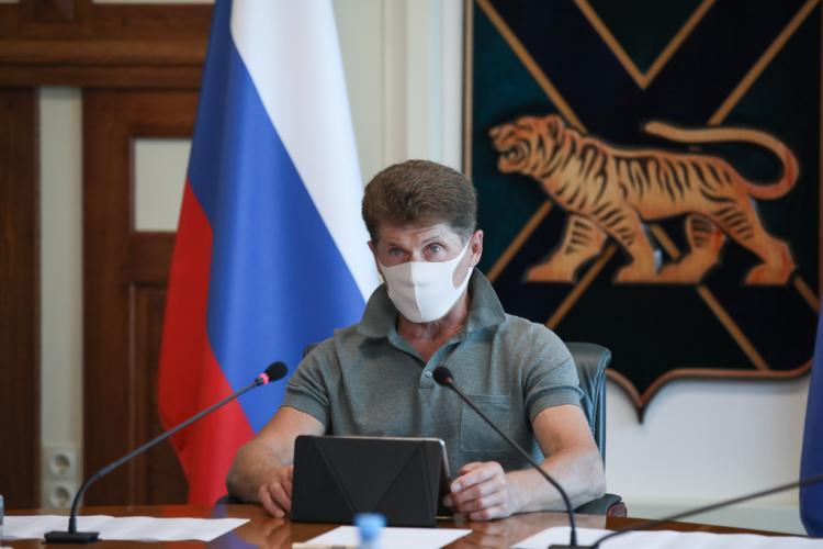 Олег Кожемяко дал поручения, касающиеся 1 сентября в Приморье