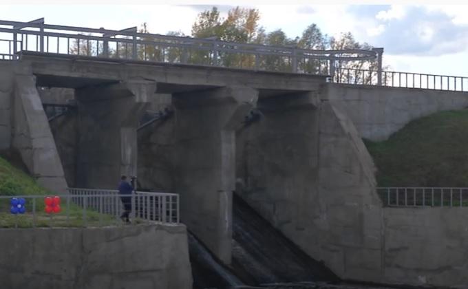 Дамбу на реке Тула отремонтировали по федеральной программе