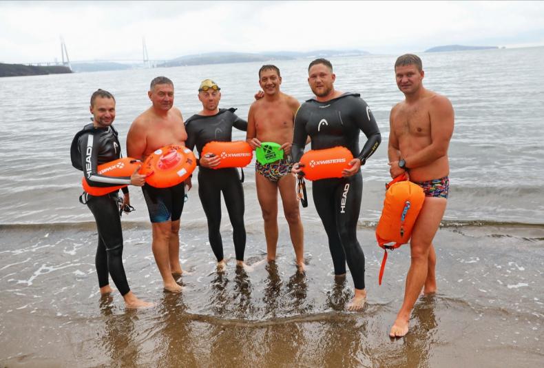 Спортсмены проплыли дистанции во Владивостоке и Калининграде в один день