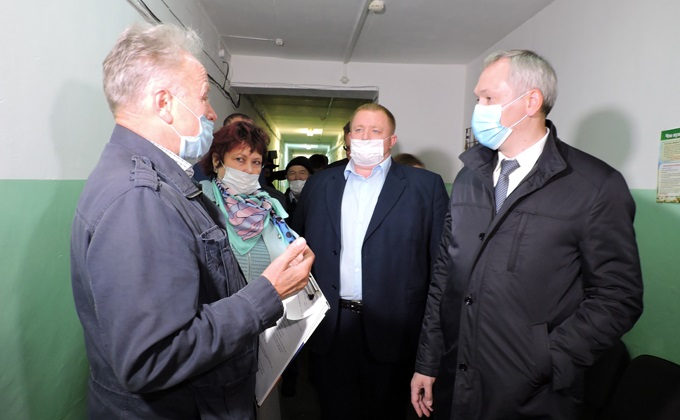 Проблемные точки Искитимского района показали губернатору Травникову