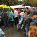 «Палатку чуть не унесло»: как проходит ярмарка на Маркса 19 сентября