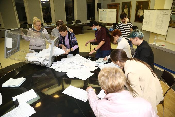 Предварительные итоги выборов-2020 озвучил избирком Новосибирской области