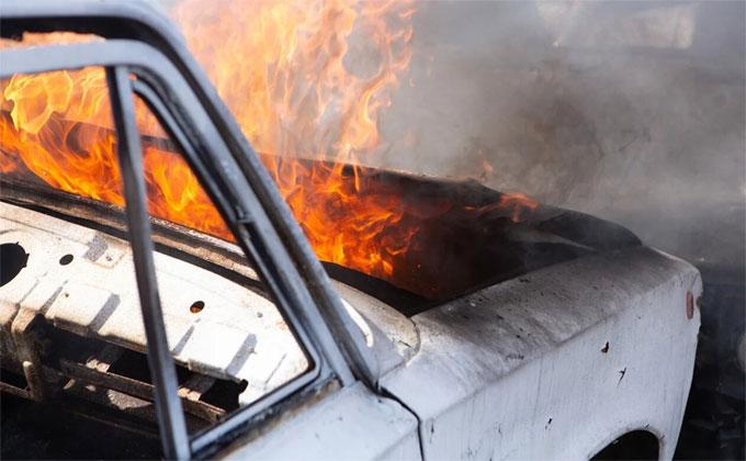 230 машин сгорели в Новосибирской области