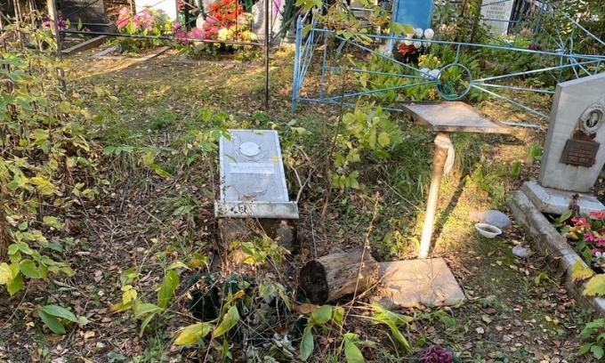 Пьяный разрушитель могил напугал посетителей кладбища в Новосибирске