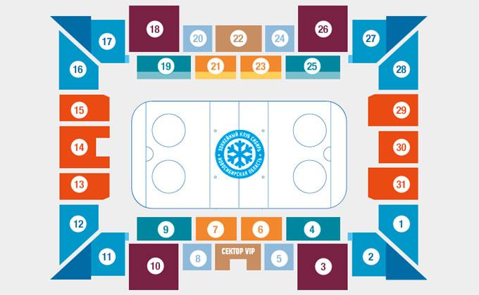 О новых правилах посещения матчей рассказали в ХК «Сибирь»
