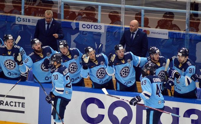 Новосибирская «Сибирь» переиграла рижское «Динамо», уступая по ходу встречи 0:3