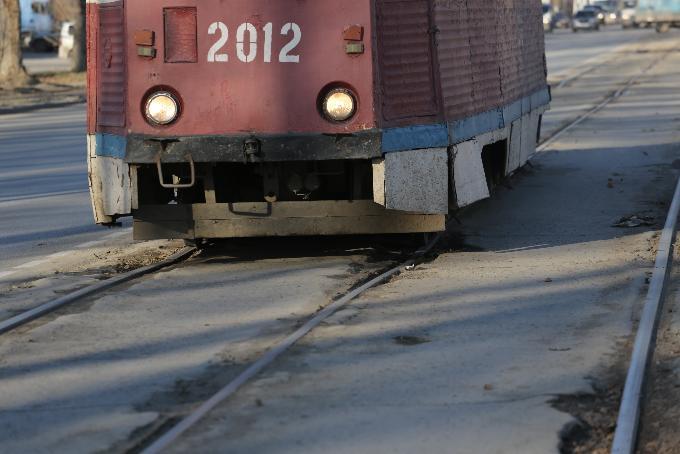 Трамвайные маршруты закрывают в правобережье Новосибирска