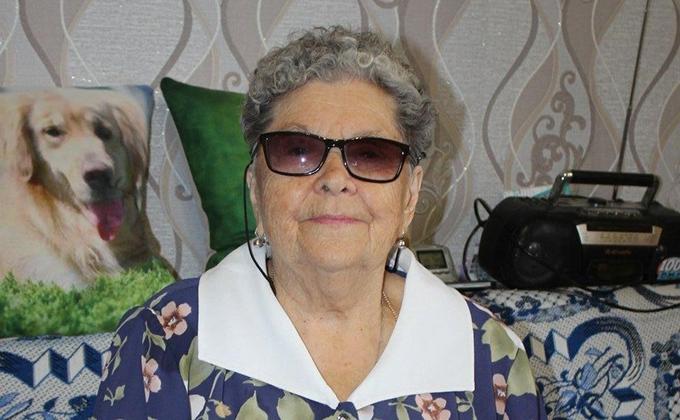 90-летний юбилей отметила ветеран ВОВ в Куйбышеве