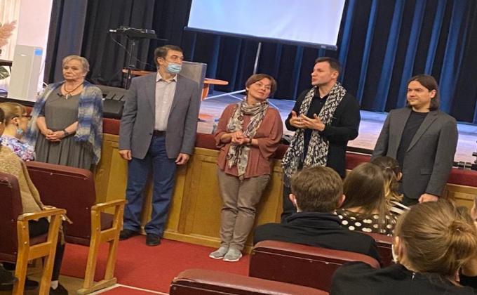 «Анатомия актера»: столичные педагоги провели серию мастер-классов для студентов творческих вузов