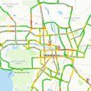 Пробки в Челябинске достигли 8 баллов