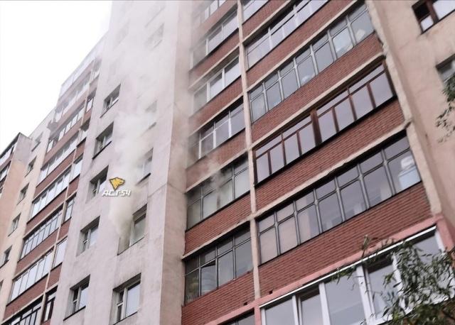 В пожаре на Горском микрорайоне пострадал мужчина