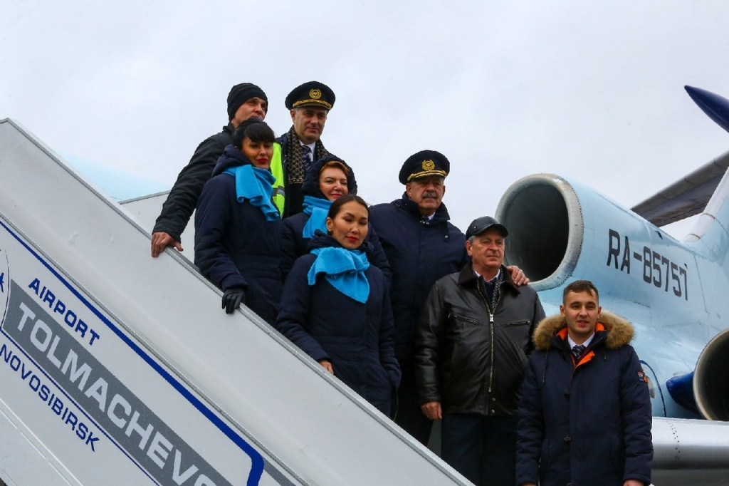 Прощальный рейс легенды - ТУ-154 совершил последний полет