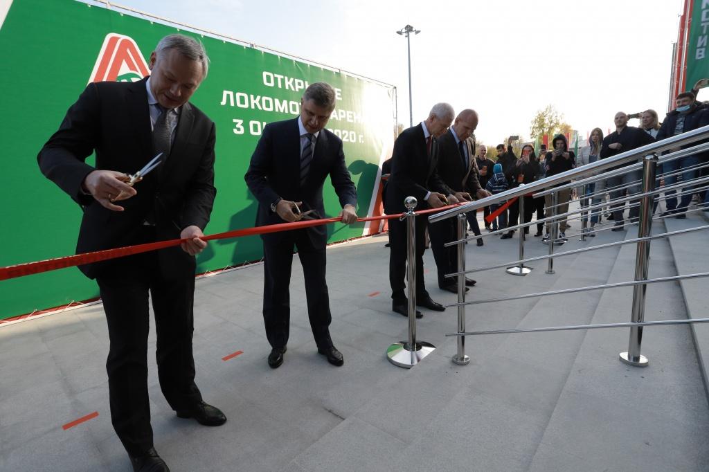 Крупнейший за Уралом волейбольный центр международного уровня торжественно открыт в Новосибирской области