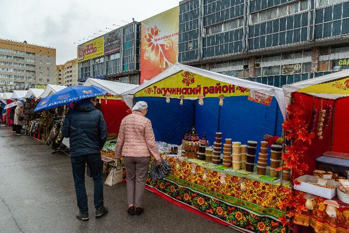 Сельхозярмарки сдержали рост цен на продукты в Новосибирске