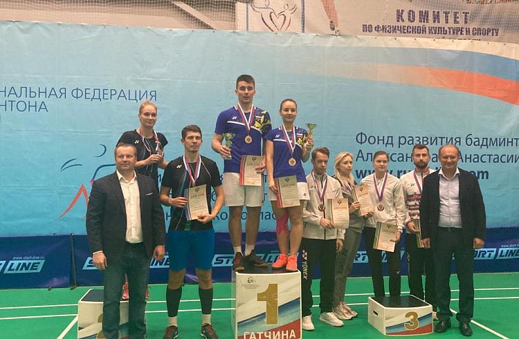 Приморские бадминтонисты завоевали призовые места на чемпионате России