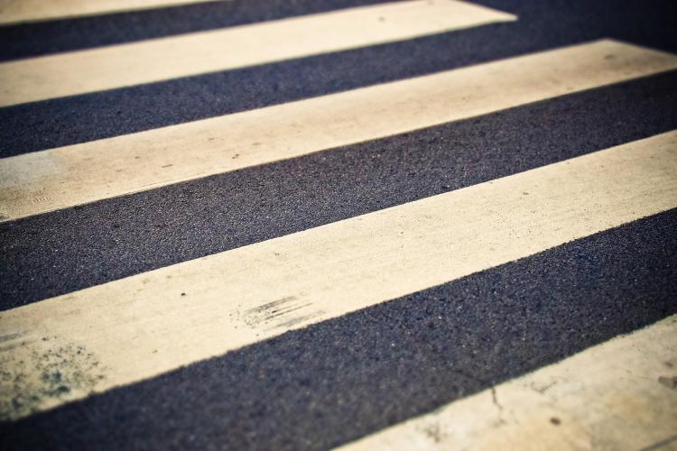 Приморцы обсуждают необычный пешеходный переход в Уссурийске