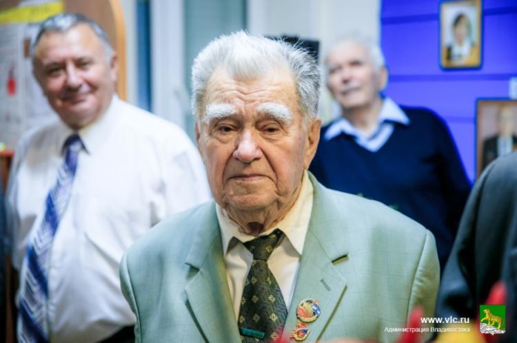Ушел из жизни председатель Совета ветеранов ДВМП Владимир Легецкий