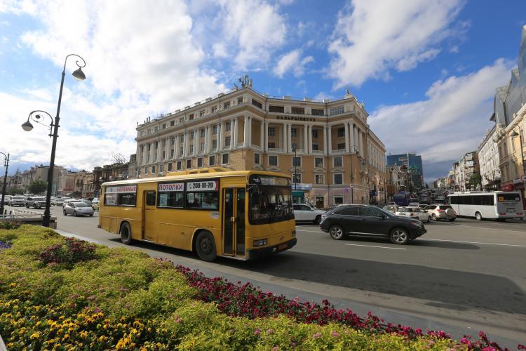 Во Владивостоке действует пять новых автобусных маршрутов