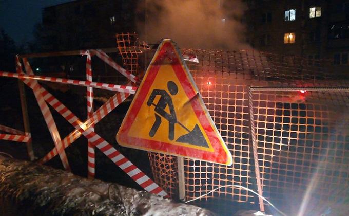 Без тепла из-за аварии остались 70 домов и один вуз в Новосибирске