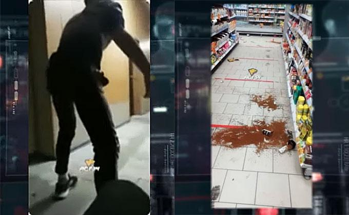 Дебош в магазине и полиции транслировали в TikTok юные «АУЕшники»