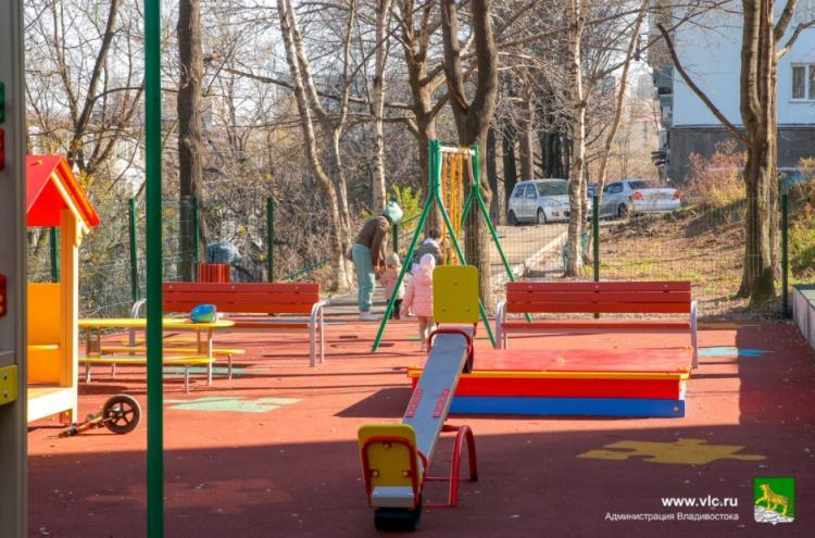 Во Владивостоке завершен ремонт 89 придомовых территорий