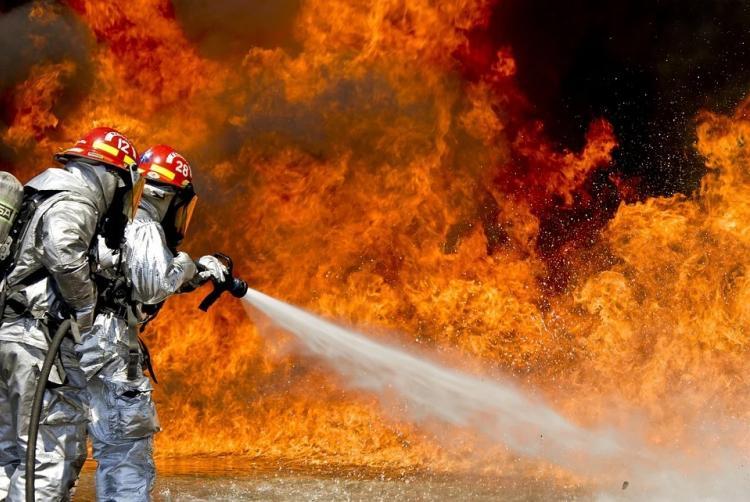 Почти 10 пожаров потушили в Приморье