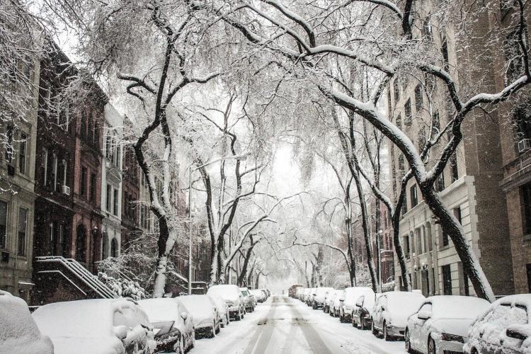Зимняя сказка: приморцев заворожило происходящее на одной из улиц Артема
