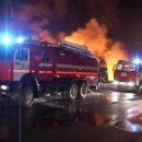 Масштабный пожар полыхал в Приморье