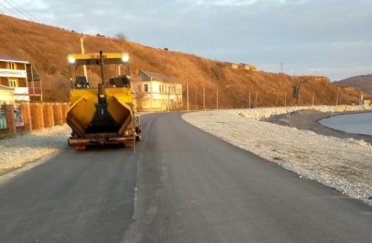 В Приморье завершили ремонт дороги, разрушенной тайфуном «Майсак»