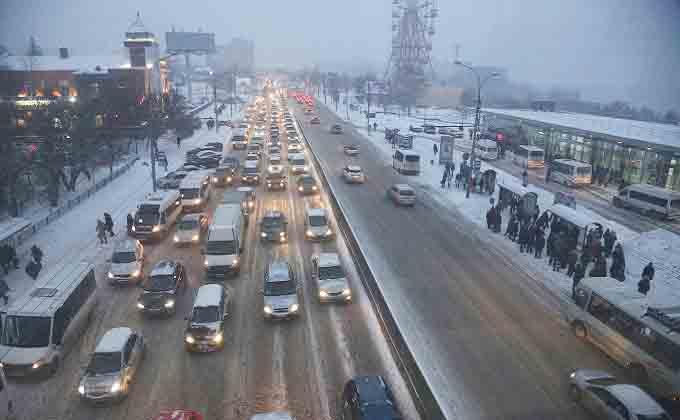 Интеллектуальная транспортная система избавит от пробок Новосибирск