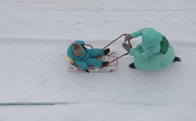 Кто может в морозы не ходить в школу в Новосибирске