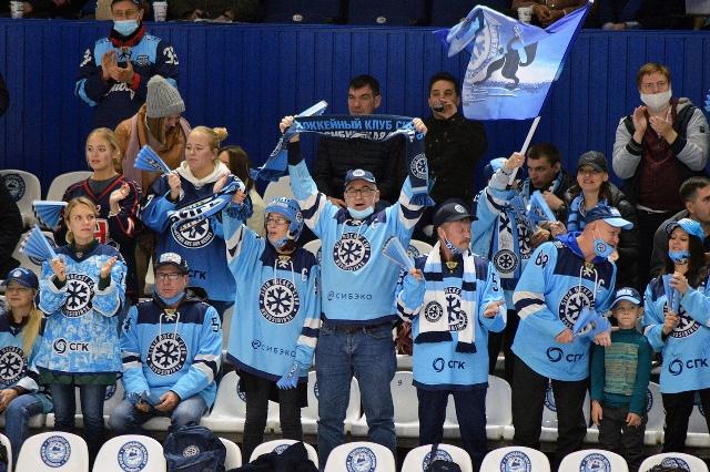 «Сибирь» в важнейшем матче переиграла хабаровский «Амур»