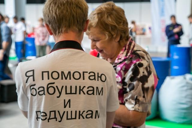 Юные волонтеры активно участвуют в проведении Года памяти и славы