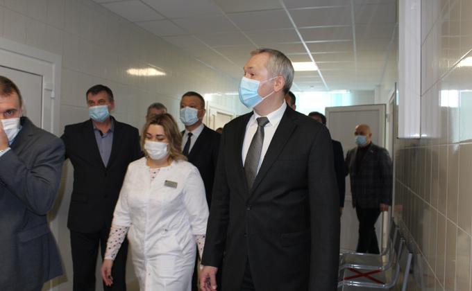Амбулаторию открыли в поселке Октябрьский Мошковского района
